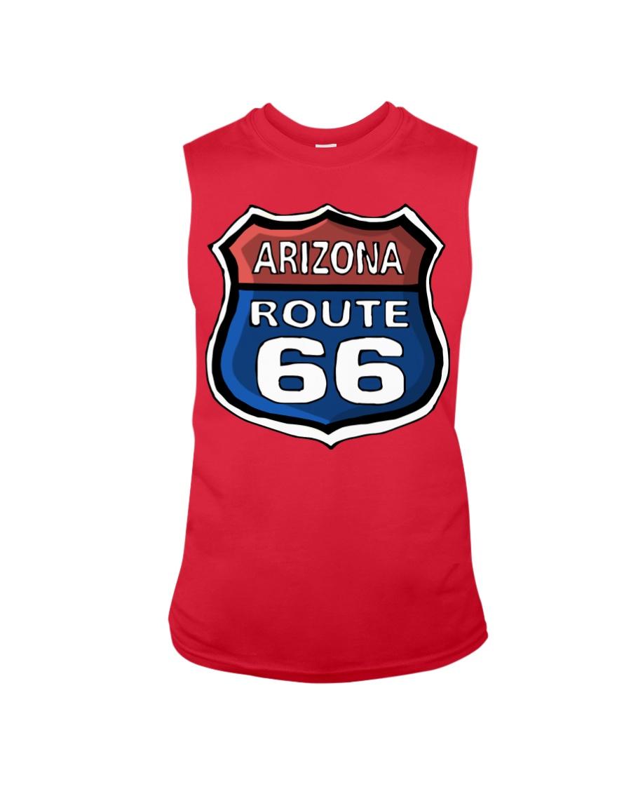 Route 66 Arizona Sleeveless Tee showcase