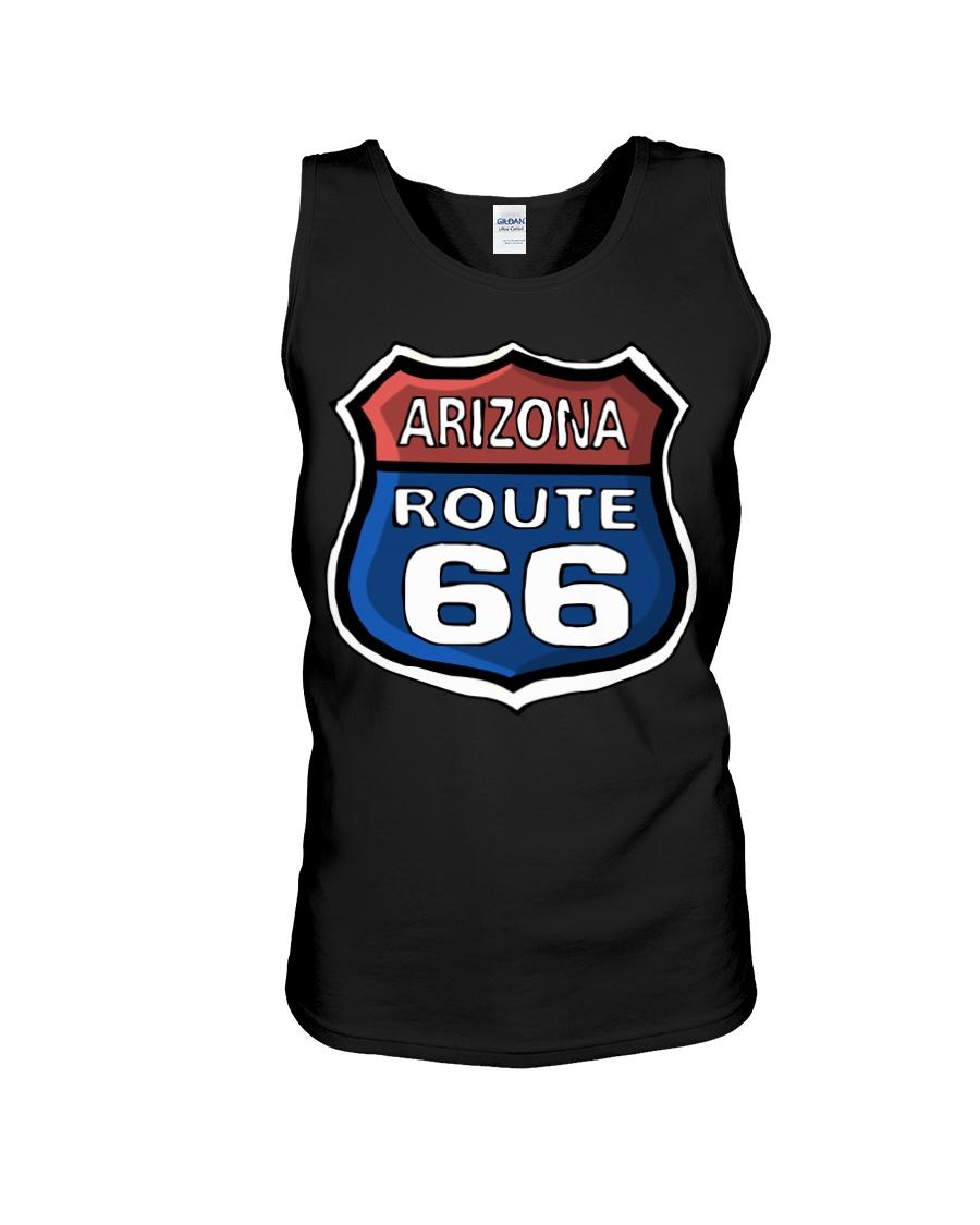 Route 66 Arizona Unisex Tank showcase