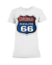 Route 66 Arizona Premium Fit Ladies Tee tile