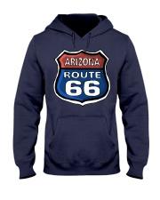 Route 66 Arizona Hooded Sweatshirt front