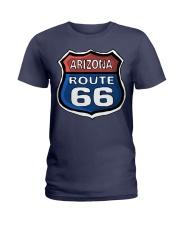 Route 66 Arizona Ladies T-Shirt thumbnail
