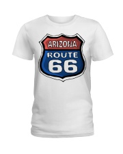 Route 66 Arizona Ladies T-Shirt thumbnail