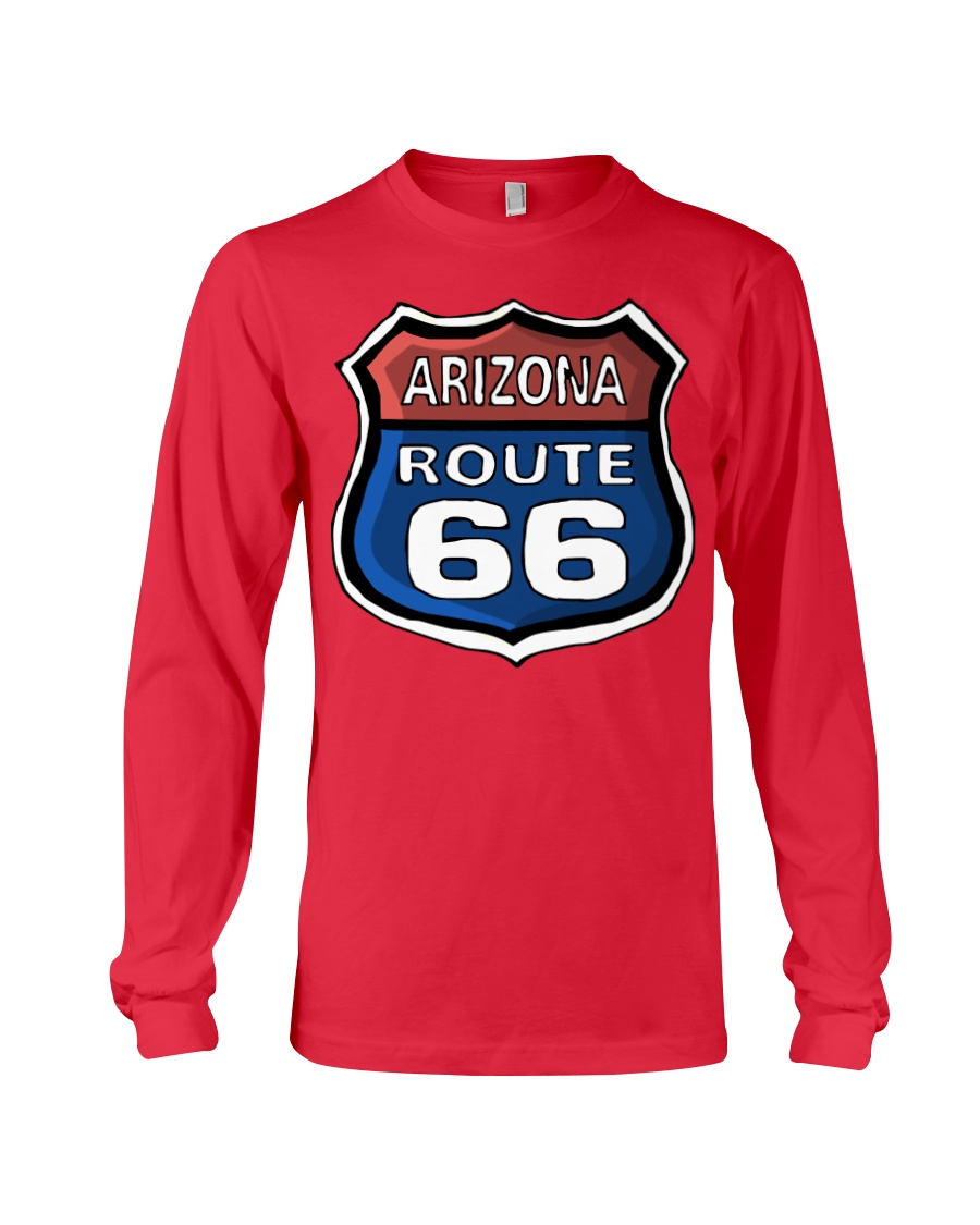 Route 66 Arizona Long Sleeve Tee