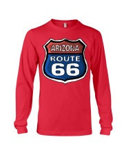 Route 66 Arizona Long Sleeve Tee front
