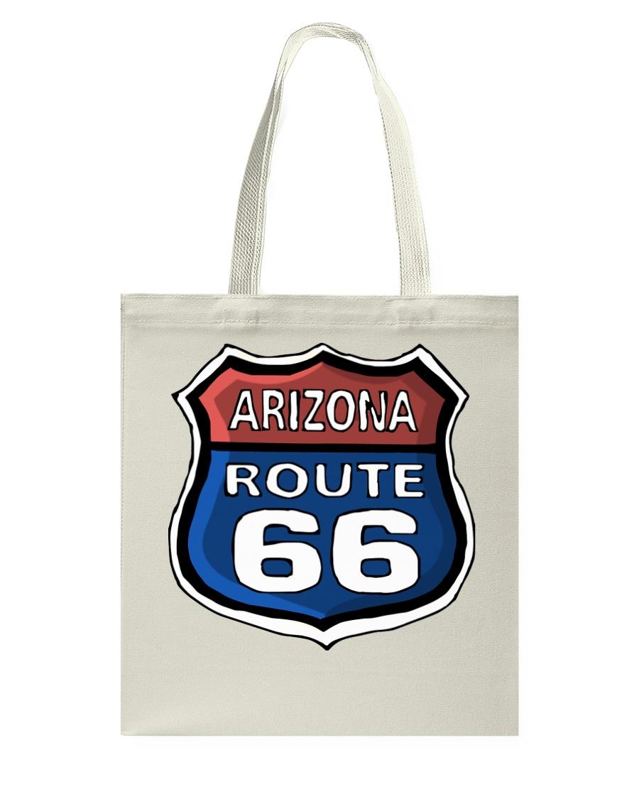 Route 66 Arizona Tote Bag showcase