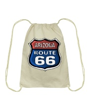 Route 66 Arizona Drawstring Bag tile