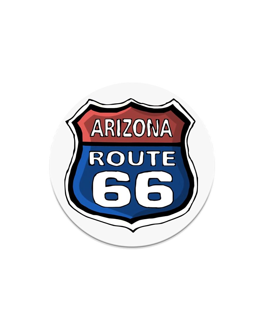 Route 66 Arizona Circle Magnet