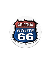 Route 66 Arizona Circle Magnet tile