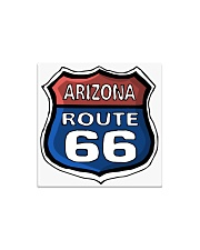 Route 66 Arizona Square Magnet tile
