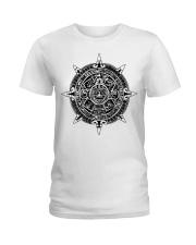 Aztecs Calendar Ladies T-Shirt thumbnail