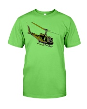 Huey Helicopter Classic T-Shirt front