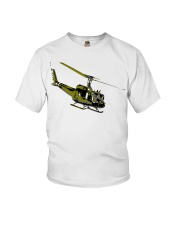 Huey Helicopter Youth T-Shirt thumbnail