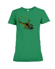 Huey Helicopter Premium Fit Ladies Tee front