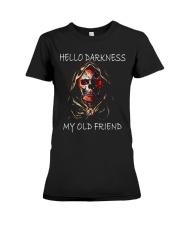 Hello Darkness Premium Fit Ladies Tee thumbnail