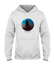 She wolf howling Hooded Sweatshirt tile