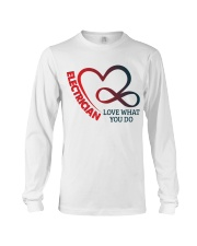 Electrician Love What You Do Long Sleeve Tee thumbnail