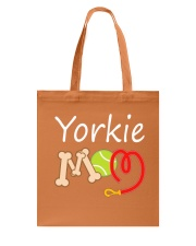 Lovely Yorkie mom  Tote Bag front