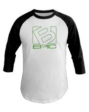 BEpic Green Logo Baseball Tee thumbnail