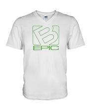 BEpic Green Logo V-Neck T-Shirt thumbnail