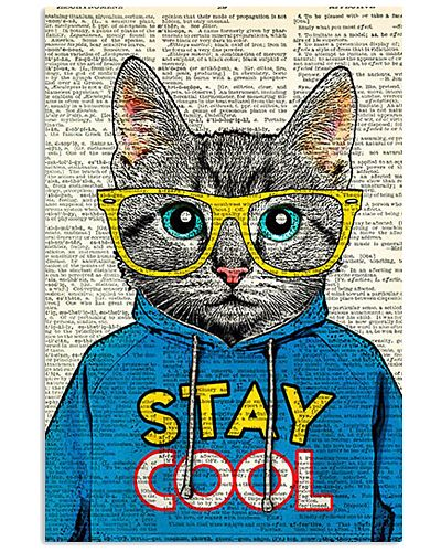 Cool Cat Poster STAY COOL