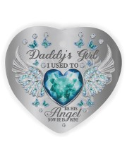 Daddys Girl Heart ornament - single (wood) thumbnail