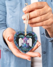 Limited Edition Heart ornament - single (porcelain) aos-heart-ornament-single-porcelain-lifestyles-01