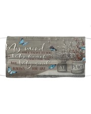 You Are At Peace Cloth face mask front