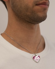 Limited Edition Metallic Heart Necklace aos-necklace-heart-metallic-lifestyle-2