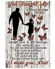 You Taught Me Many Things 11x17 Poster front