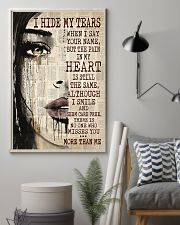 I Hide My Tears 11x17 Poster lifestyle-poster-1