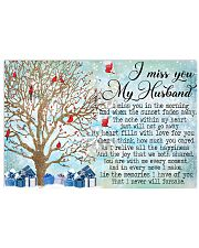 I Miss You My Husband 17x11 Poster front