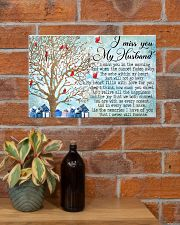 I Miss You My Husband 17x11 Poster poster-landscape-17x11-lifestyle-23