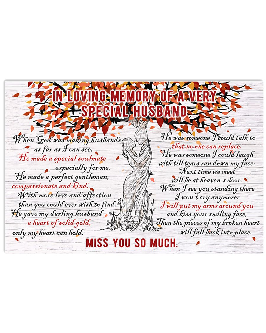 Miss You So Much 17x11 Poster