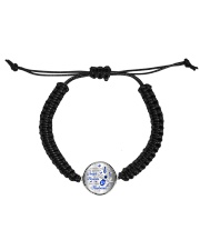 I Have A Guardian Angel Cord Circle Bracelet thumbnail