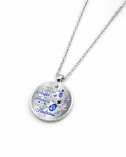 I Have A Guardian Angel Metallic Circle Necklace aos-necklace-circle-metallic-lifestyle-04