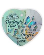 Daddys Girl Heart Ornament (Wood) tile