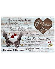To My Husband 17x11 Poster front