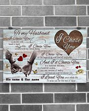 To My Husband 17x11 Poster poster-landscape-17x11-lifestyle-18