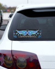 I Loved You Bumper Sticker aos-bumper-10-x-3-sticker-lifestyle-front-11