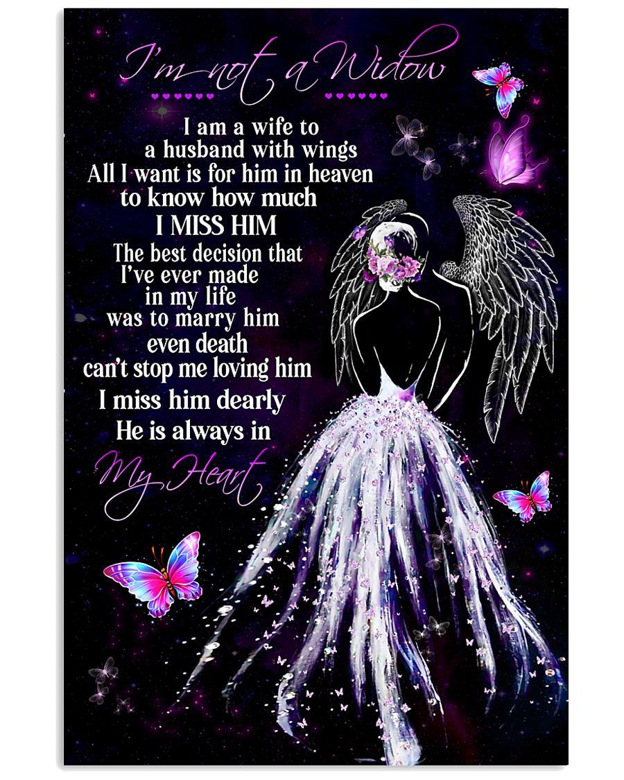 Im Not A Widow 11x17 Poster