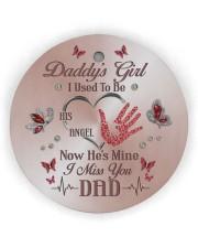 Daddys Girl Circle ornament - single (wood) thumbnail