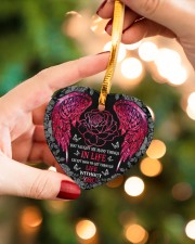 You Taught Me Many Things Heart ornament - single (porcelain) aos-heart-ornament-single-porcelain-lifestyles-09