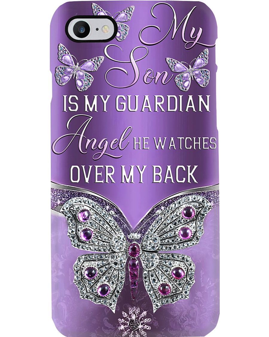 My Son Is My Guardian Angel Phone Case