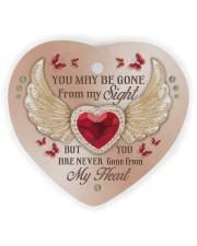 Limited Edition Heart ornament - single (wood) thumbnail