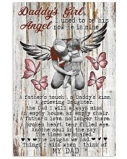 Daddy's Girl I Used To Be His Angel Now He's Mine 11x17 Poster front