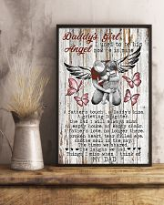 Daddy's Girl I Used To Be His Angel Now He's Mine 11x17 Poster lifestyle-poster-3