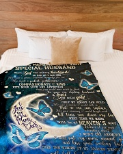 "In Loving Memory Large Fleece Blanket - 60"" x 80"" aos-coral-fleece-blanket-60x80-lifestyle-front-02"