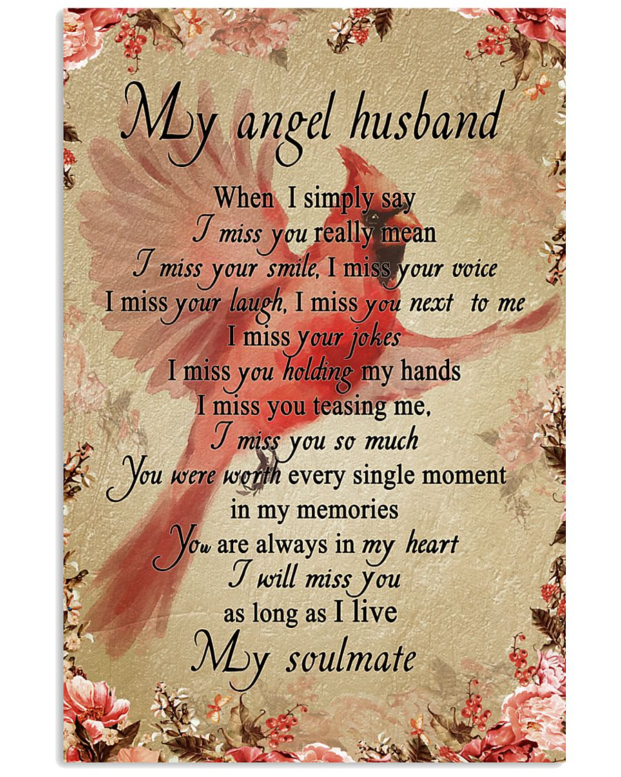 My Angle Husband 11x17 Poster