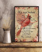 My Angle Husband 11x17 Poster lifestyle-poster-3