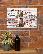 The Day God Took You Home 17x11 Poster poster-landscape-17x11-lifestyle-23